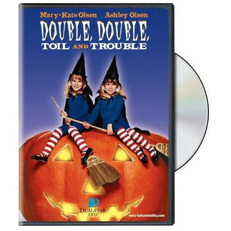 Double, Double, Toil and Trouble (DVD) - Halloweentown High Troll