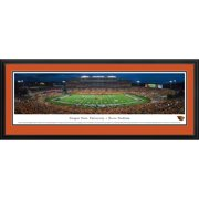 """Oregon State Beavers 18"""" x 44"""" Deluxe Frame Panorama Wall Art"""
