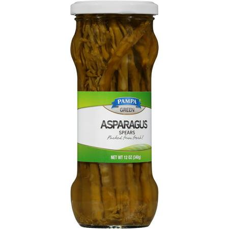 Pampa Green Asparagus Spears 12 Oz Walmart Com