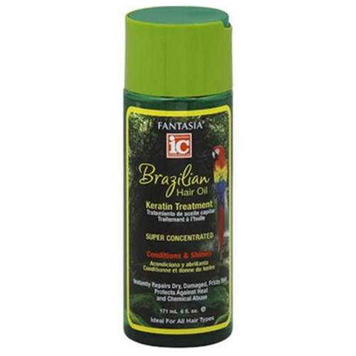 Fantasia Brazilian Hair Oil Keratin Super Concentrated Gel Treatment, 6 oz