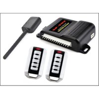 Crimestopper SP202 SecurityPlus- TM Deluxe 1-Way Alarm & Keyless Entry System Two 5-Button Remotes
