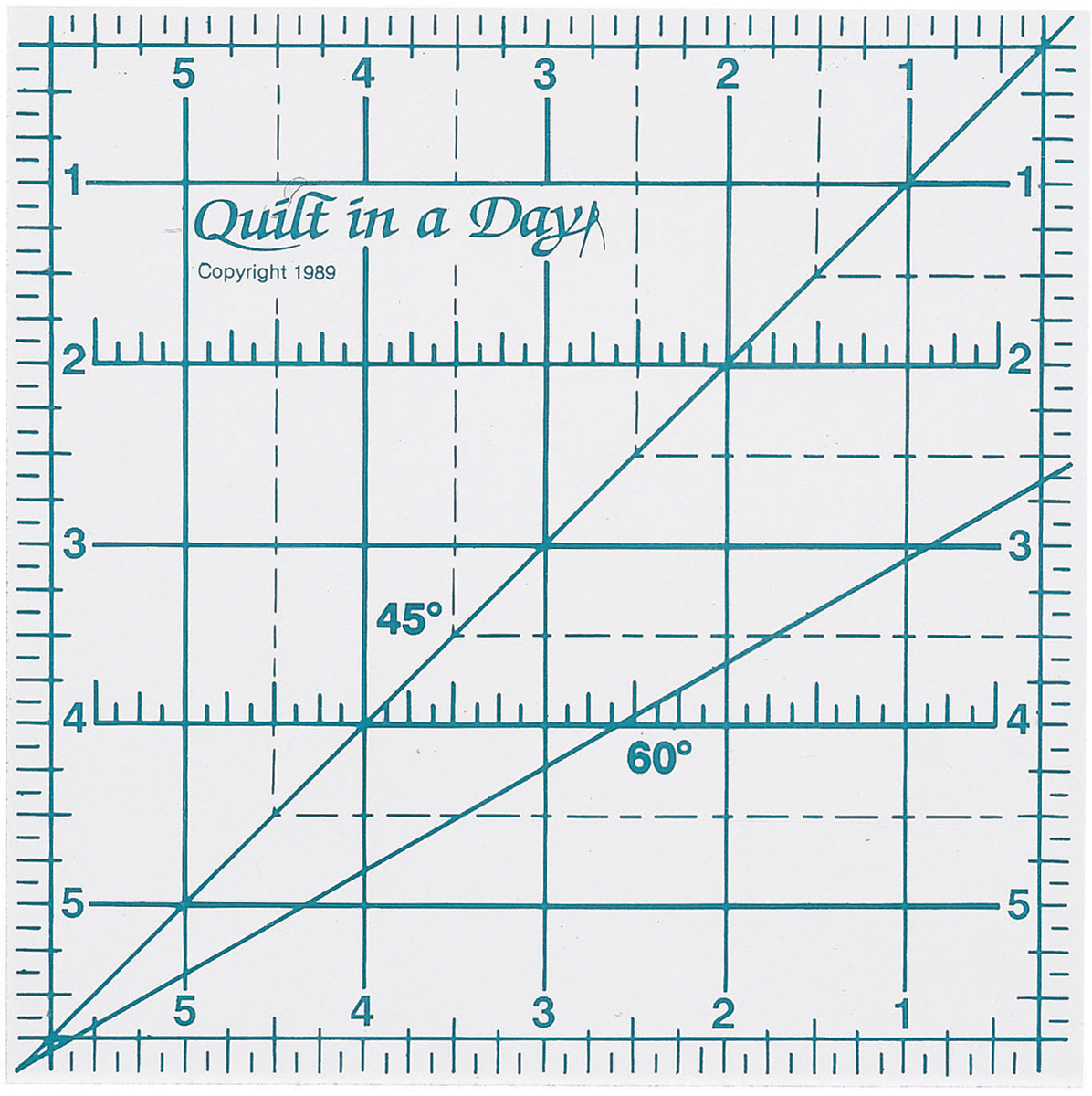 "Quilt In A Day Ruler-6""X6"""
