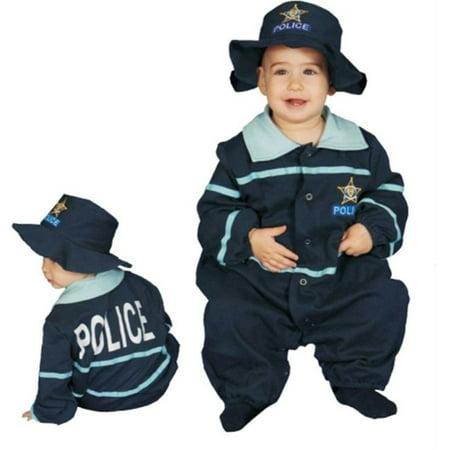Baby Police Costume (Costumes For All Occasions Up295 Baby Police Officer)
