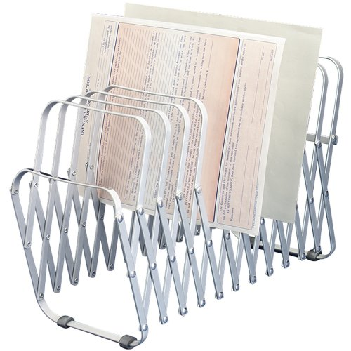 "Lee Products Lee-14112 Lee Flexible Expandable Collator/sorter/file7"" X 11"" - 12 - Aluminum - Silver, Gray (lee14112)"