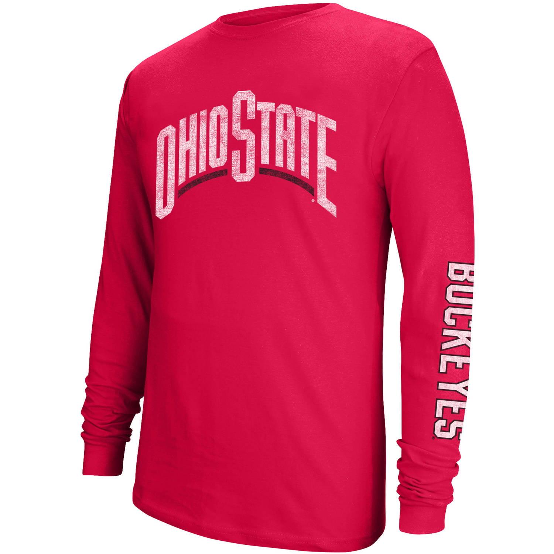 NCAA Ohio State Men's Long Sleeve Graphic Tee