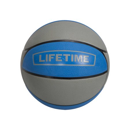 Lifetime 29.5 in Official Size Rubber Basketball Blue and Grey, 1186852](Basketballs In Bulk)