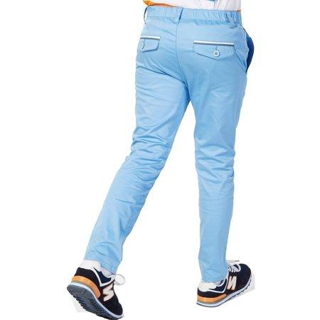 Leo&Lily Big Boys' Regular Fit Elastic Waist Stretch Casual Pants