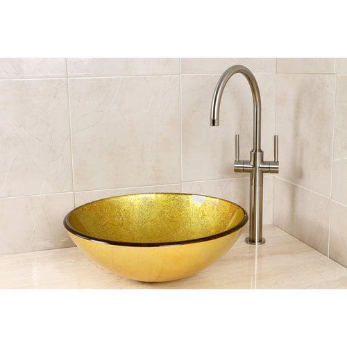 Kingston Brass Catania Circular Vessel Bathroom Sink