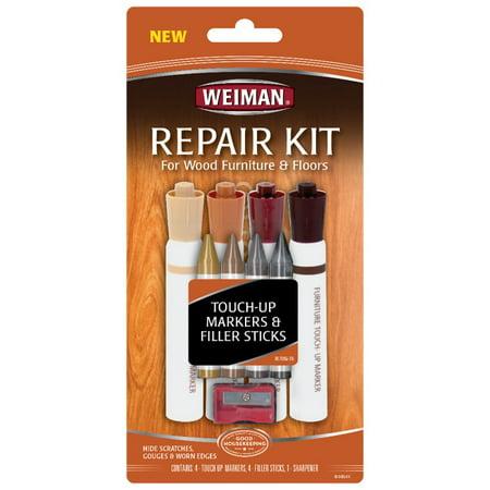 Weiman Wood & Furniture Repair Kit, 9 Ct