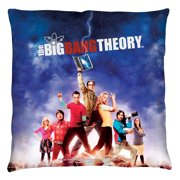 Big Bang Theory Poster Throw Pillow White 14X14
