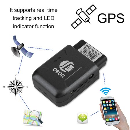 Secret Tracking Device For Car >> Gps Vehicle Tracker Obd2 Obdii Real Time Locator Gsm Gps For Car