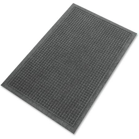Genuine Joe, GJO58935, EcoGuard Indoor Wiper Floor Mats, 1 / Each, Charcoal Gray