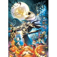 108 Piece Art Of The Nightmare Before Christmas D108986 (Japan Import)