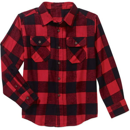Ls Flannel Shirt