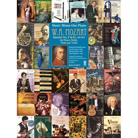 Mozart Quartet in E flat for Piano Violin, Viola, and Violoncello