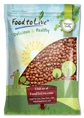 Food To Live Hazelnuts   Filberts (Raw, No Shell) (8 Pounds) by Food To Live