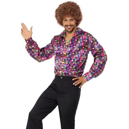 60s Psychedelic CND Shirt Adult Costume](60s Style Costumes)