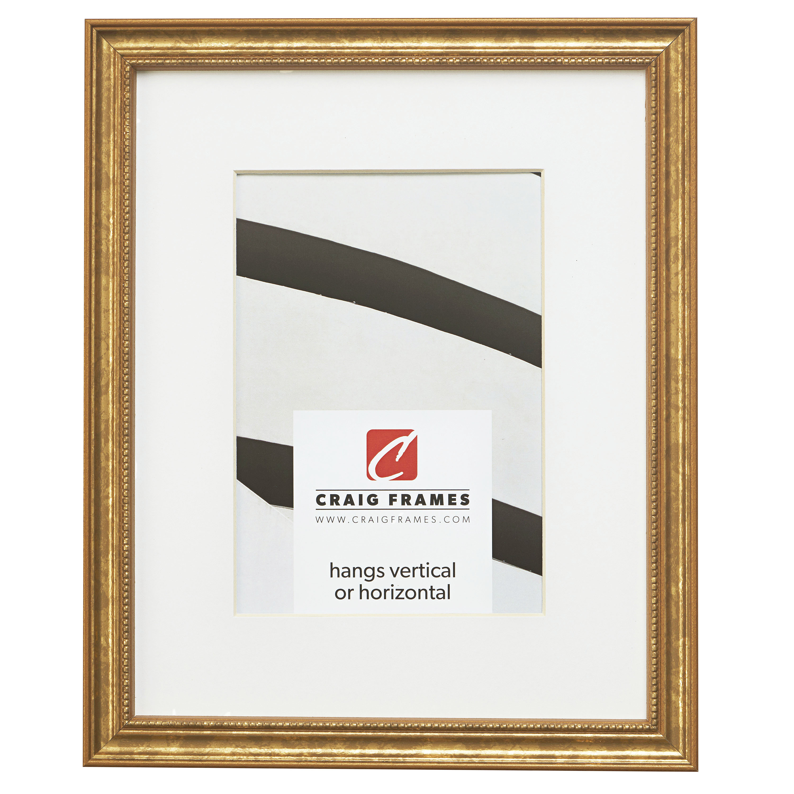 1 Wide Siena 109522228 22x28 Inch Gold Luminos Picture Frame Craig Frames
