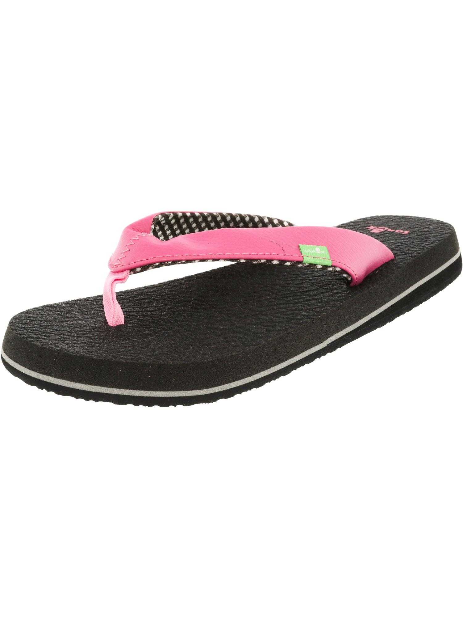 Sanuk Women's Yoga Mat Pink Sandal - 8M