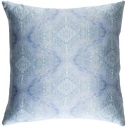 """Surya KLS2-1818D Kalos 18"""" Wide Square Damask Silk Covered Down Filled Accent Pillow"""