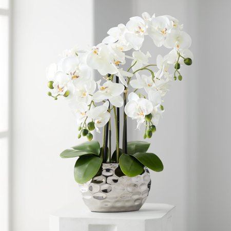 Phalaenopsis Orchid Bridal Bouquets - Dahlia Studios White Phalaenopsis 23