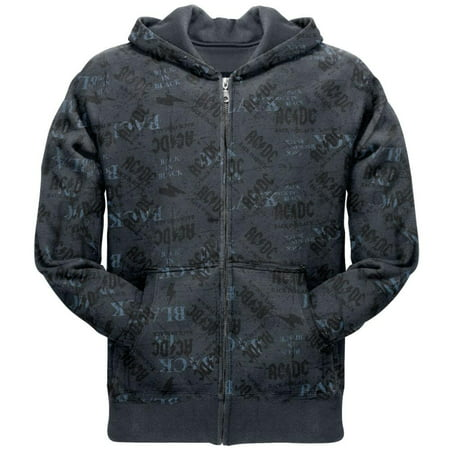 AC/DC - Back In Black All-Over Zip -