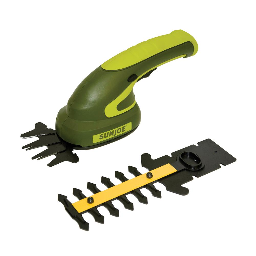 Sun Joe HJ602C 2-in-1 Cordless Grass Shear | 3.6 V