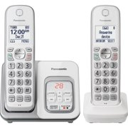 Panasonic, PANKXTGD532W, KX-TGD532W Duo Cordless Phone, 1, White