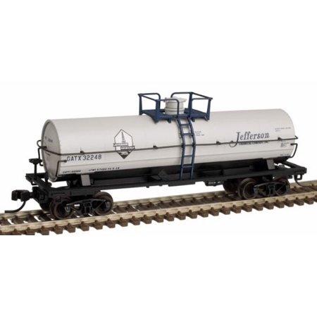 Chemical Tank Car - Atlas 50002642 N Jefferson Chemical 11,000-Gallon Tank Car with Platform #32248