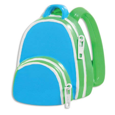 (PERSONALIZED CHRISTMAS ORNAMENTS CHILD- BOY SCHOOL BACKPACK KIT)
