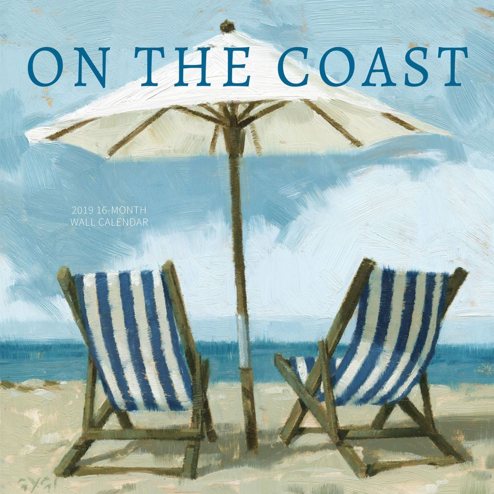 On the Coast 2019 Wall Calendar, Landscapes by Leap Year Publishing LLC by Leap Year Publishing Llc