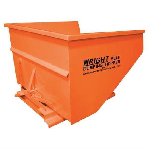 Self Dumping Hopper,5000 lb.,Orange G0453367