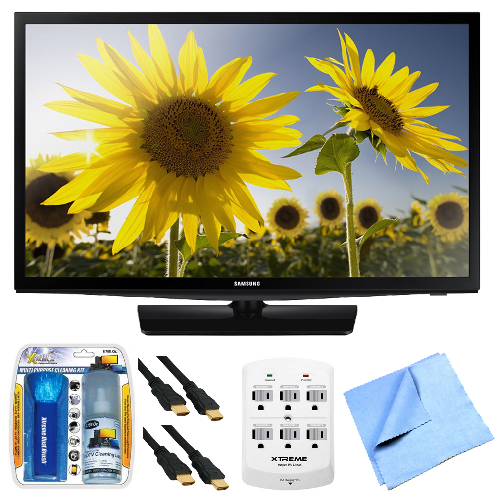 Samsung UN28H4500 28-inch HD 720p Smart LED TV Clear Moti...