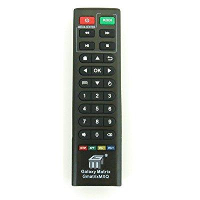 nettech replacement remote control controller for mxq, m8, mxq pro, t95m, t95n android smart tv box kodi iptv media
