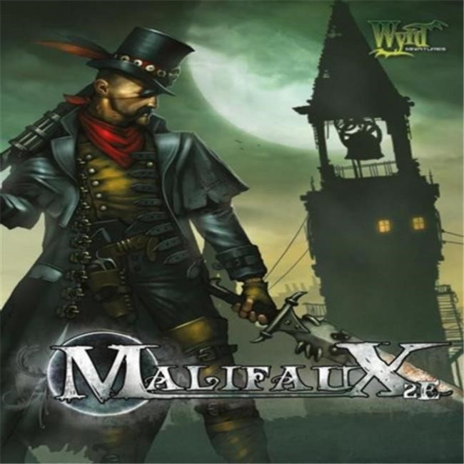 Wyrd Miniatures Malifaux Rule Book Model Kit