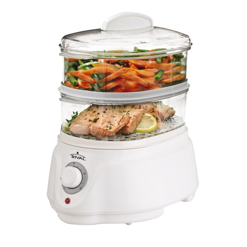 Rival Double Stack Vegetable Steamer