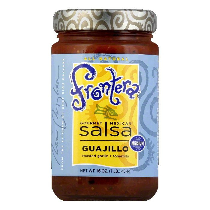 Frontera Rustic Guajillo Salsa, 16 OZ (Pack of 6)