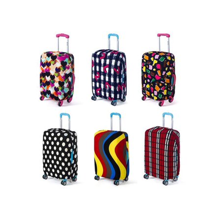 18''-20'' Elastic Luggage Suitcase Cover Protective Bag Dustproof Case Protector (Luggage 60 Linear Inches)