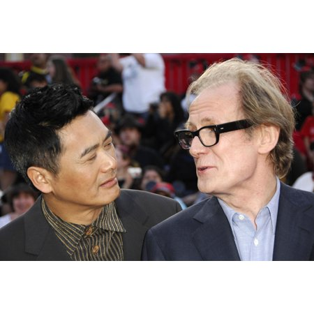Chow Yun Fat Bill Nighy At Arrivals For Premiere Of Pirates Of The Caribbean At WorldS End Disneyland Anaheim Ca May 19 2007 Photo By Michael GermanaEverett Collection Celebrity