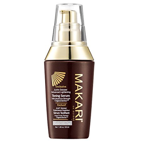Makari Exclusive Skin Toning Serum 1.7oz - Lightening, Brightening & Toning Body Serum with Organiclarine - Advanced Whitening for Dark Spots, Scars, Sun Patches, (Best Products For Dark Spots And Hyperpigmentation)