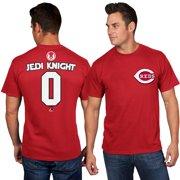 Cincinnati Reds Majestic Star Wars Jedi Knight Name & Number T-Shirt - Red