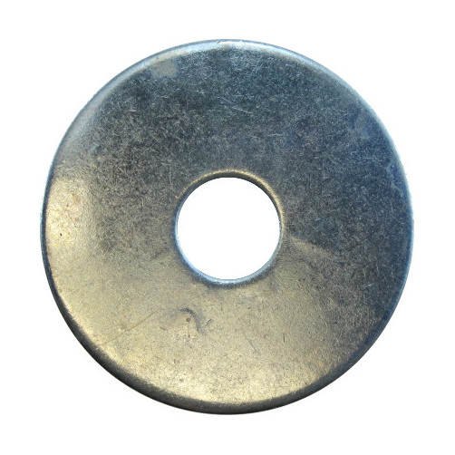 "1/4"" X 1-1/4"" O.D.  Zinc Plated Fender Washers (1 lb. - approx. 50 pcs)"