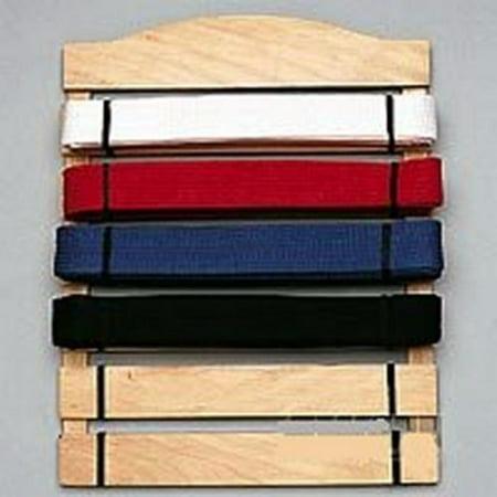 6 level Martial Arts Karate belt display rack Holder  aw3029 (Martial Arts Belt Rack)