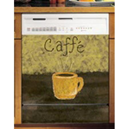 Caffe Coffee Custom Dishwasher Cover