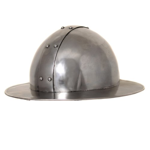 EC World Imports Antique Replica Medieval Infantry Steel Kettle Hat Helmet by ecWorld Enterprises