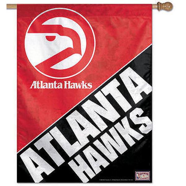 Atlanta Hawks Logo Flag