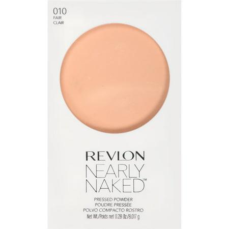 Revlon Nearly Naked Pressed Powder, Fair, 0.28 Oz ()