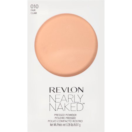 - Revlon Nearly Naked Pressed Powder, Fair, 0.28 Oz