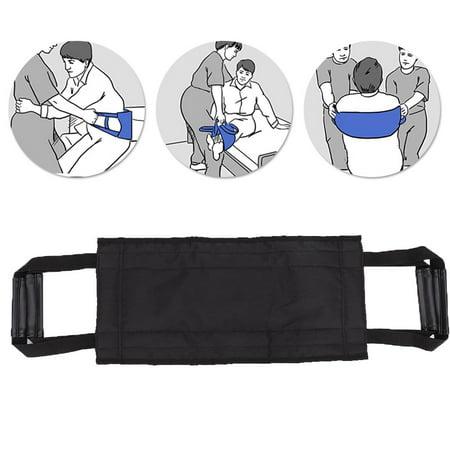 LYUMO Patient Transfer Belt Elderly Transfer Moving Belt Wheelchair Bed Nursing Lift Belt with Handles