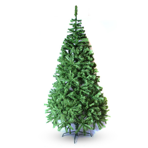 Perfect Holiday 5' Green PVC Classic Evergreen Artificial Christmas Tree